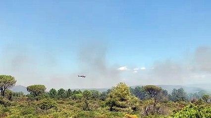 Reprise de feu au Cannet-des-Maures