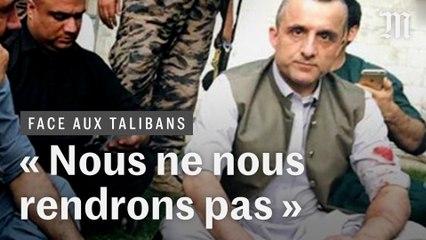 Exclusif : « Nous ne nous rendrons pas », prévient Amrullah Saleh, chef des derniers résistants aux talibans