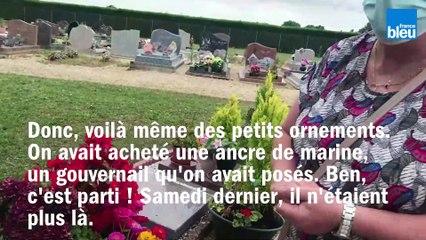 Une habitante de Vivonne, dans la Vienne, n'en peut plus des pilleurs de cimetières