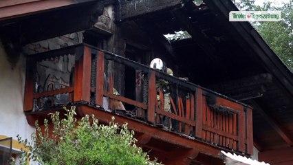 Balkonbrand in Neustift griff auf Dachstuhl über, Sachschaden erheblich