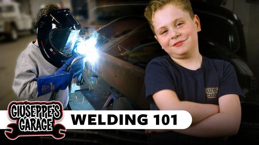 Giuseppe's Garage | Welding 101 | Popular Mechanics