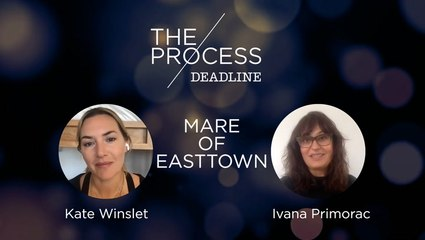 'Mare Of Easttown' EP/Actor Kate Winslet + Hair & Makeup Designer Ivana Primorac   The Process