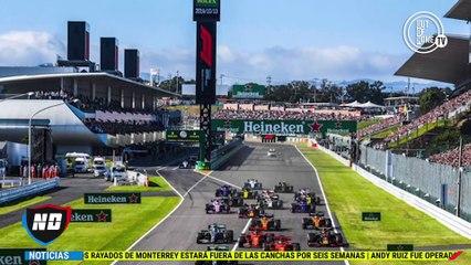 Se suspende el Gran Premio de Japón.
