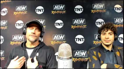 AEW Rampage The First Dance  Media Scrum with CM PUNK and TONY KHAN