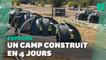 En Espagne, un camp pour accueillir des réfugiés afghans construit en 4 jours