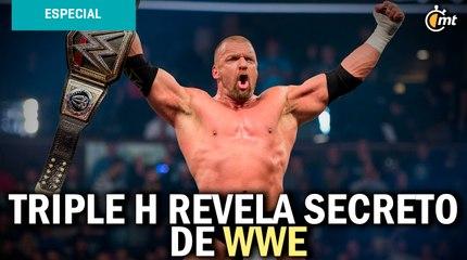 Triple H revela secreto de WWE: el 'factor X' para crear una superestrella