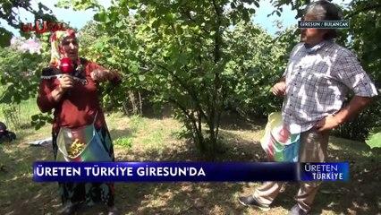 Üreten Türkiye - 21 Ağustos 2021 - Giresun Bulancak - Cenk Özdemir - Ulusal Kanal