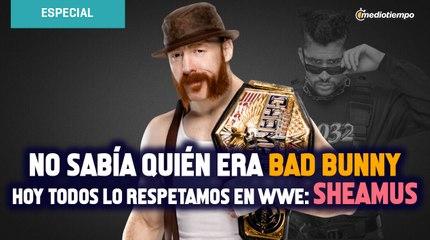 No sabía qué o quién era Bad Bunny, hoy todos lo respetamos en WWE: Sheamus