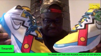 Nike Lebron 18 Stewie Family Guy  Low Sneaker Review With Tmarsh and Dj Delz
