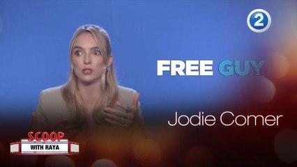 Jodie Comer تتحدث عن دورها في الفيلم الجديد Free Guy