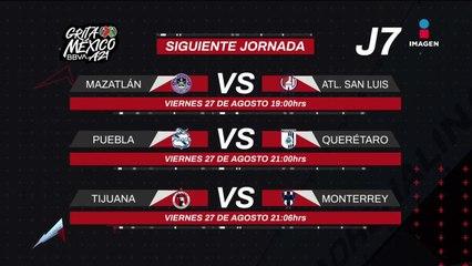 Duelos de la Jornada 7 del #GritaMéxicoA21