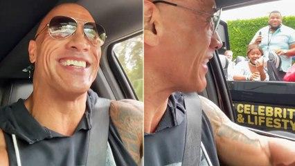 Watch Dwayne Johnson Surprises Fans In A Coolest Way