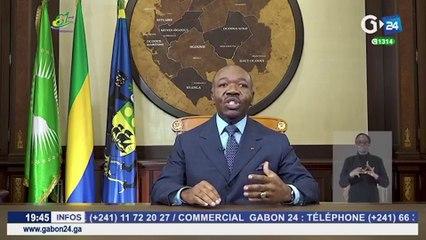 [#Reportage] Ali Bongo appelle les Gabonais à se faire vacciner massivement