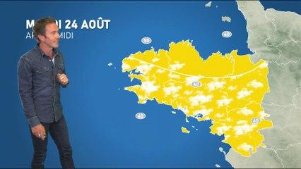 Bulletin météo pour le mardi 24 août 2021