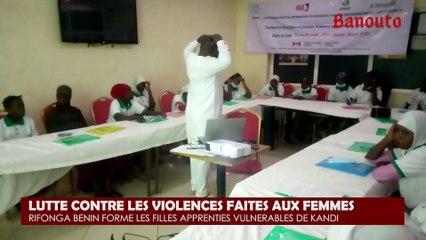 Violences faites aux femmes à Kandi : Rifonga-Bénin outille 20 apprenties vulnérables
