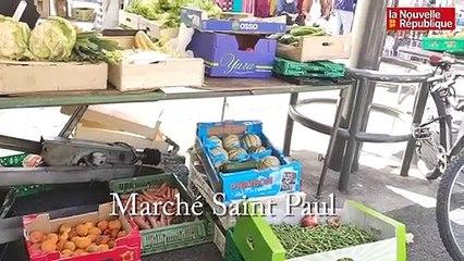 VIDEO. Indre-et-Loire : l'obligation de porter le masque sur les marchés est-elle appliquée ?