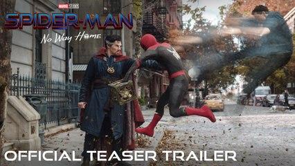 SPIDER-MAN NO WAY HOME - Official Teaser Trailer (VOSTEN)
