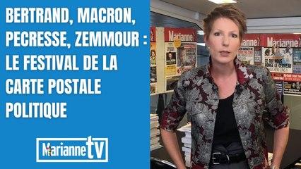 Bertrand, Macron, Pécresse, Zemmour : le festival de la carte postale politique