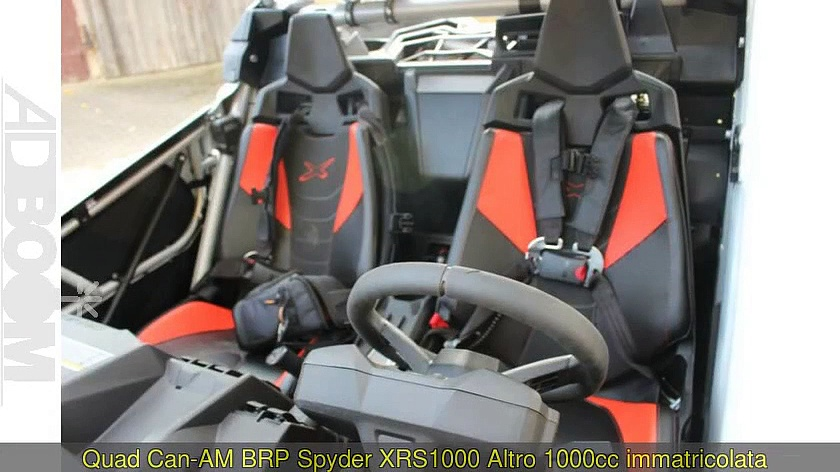 CAN-AM BRP Spyder XRS1000 Altro