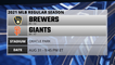 Brewers @ Giants Game Preview for AUG 31 -  9:45 PM ET