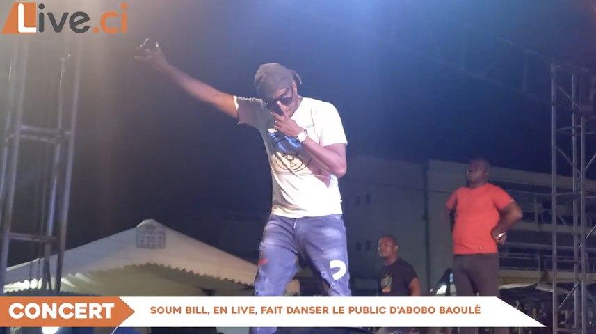 Soum Bill fait danser le public d'Abobo Baoulé