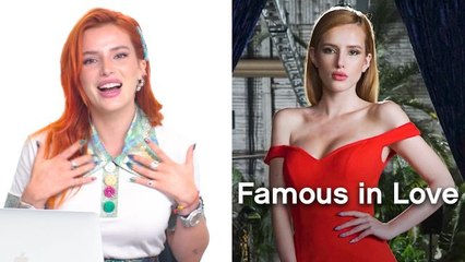 """Bella Thorne Breaks Down Her Best Looks, from Disney's """"Shake It Up"""" to """"Famours In Love"""""""