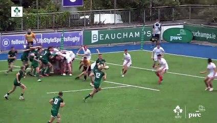 PwC Interprovincial Highlights: Ulster U18 v Connacht U18