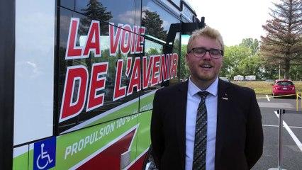 Jonathan Tabarah nous parle des nouveaux midibus électriques du RTL