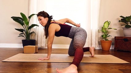 Building Inner Thighs & Balance, Transition work with Eliz