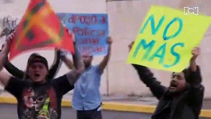Una protesta que generó temor en el Santa Rosa