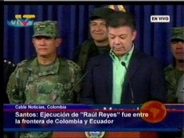 Anuncian muerte Raúl Reyes