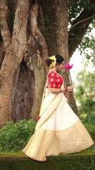 Anupama Parameswaran Latest Photoshoot Video in Kerala Saree - Kerala9.com