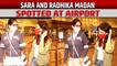 Sara Ali Khan and Radhika Madan spotted at airport