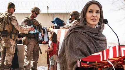 Angelina Jolie Expresses Anger Over Decision To Withdraw American Troops From Afghanistan