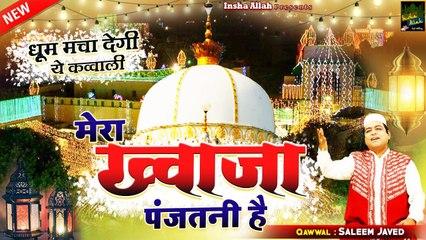 झूम झूम के नाचने लगोगे इस क़व्वाली को सुनकर   Mera Khwaja Panjatani Hai   Salim Javed   New Qawwali