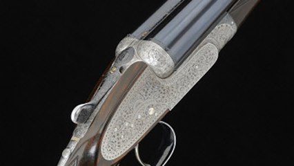 Holland & Holland from the 1920s that can shoot steel