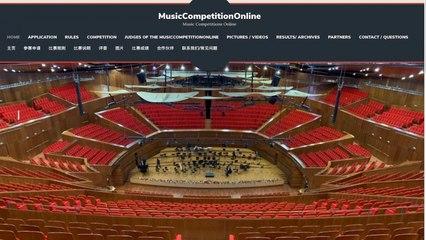 MusicCompetitionOnline - CAO Yixin, Piano. Franz Liszt: A Sigh, Concert Etude in D Flat Major