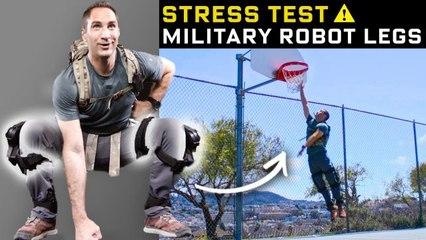 Stress Testing Real-Life Robot Legs