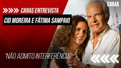 ENTREVISTA COM CID MOREIRA E FATIMA SAMPAIO