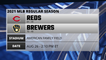 Reds @ Brewers Game Preview for AUG 26 -  2:10 PM ET