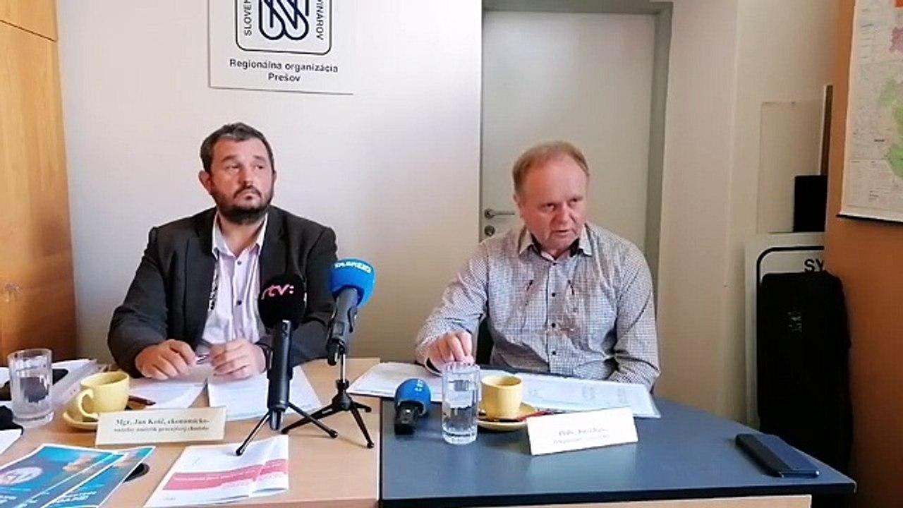 ZÁZNAM: TK Odborového zväzu KOVO k minimálnej mzde