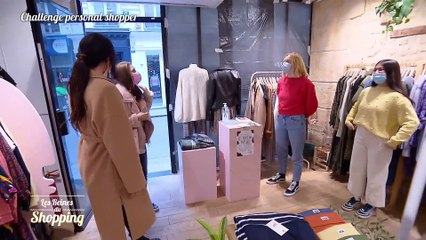 Les Reines du shopping : les essayages compliqués d'Amélie avec Cristina Cordula sur M6