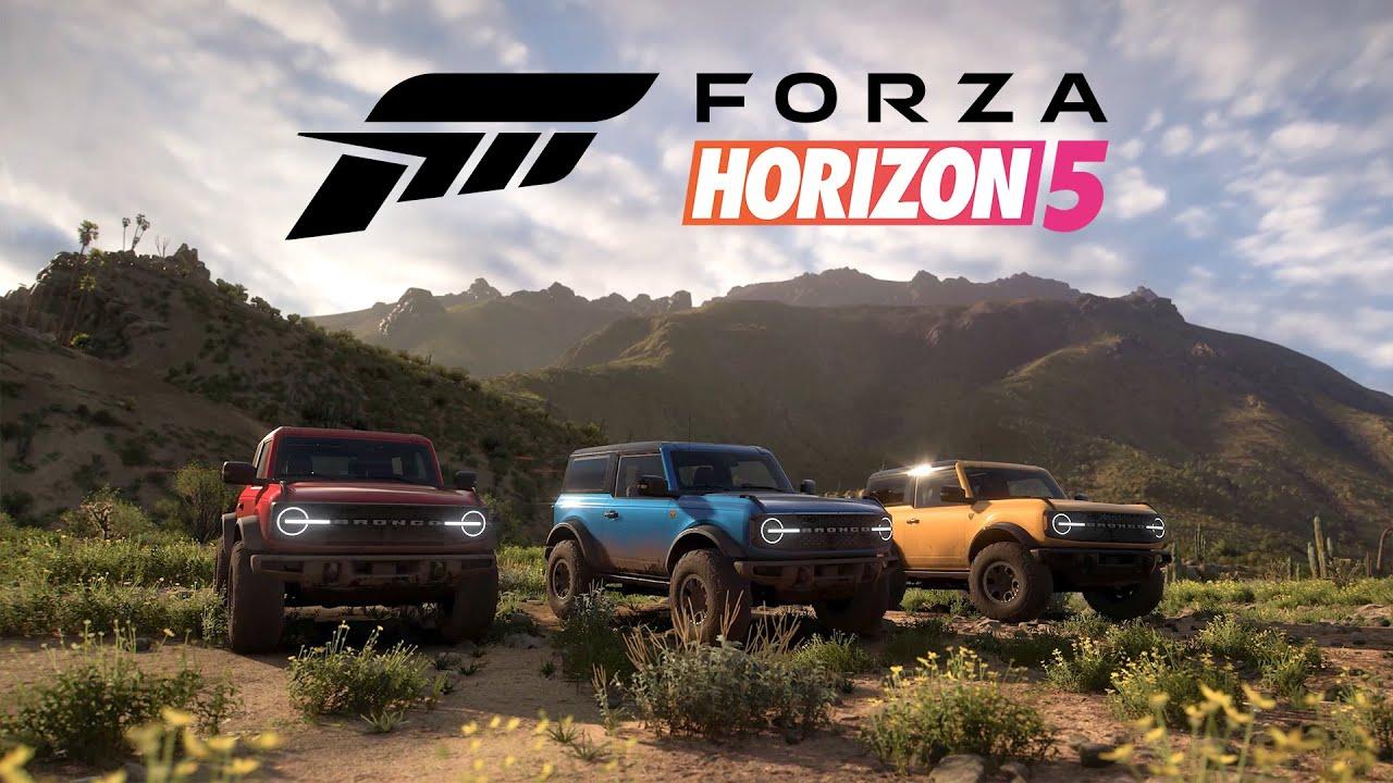 Forza Horizon 5 – Ford Bronco Badlands Trailer | gamescom 2021