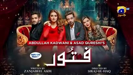 Fitoor EP 45 - English Subtitle - 28th August 2021 - HAR PAL GEO