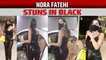 Nora Fatehi makes heads turn at the airport