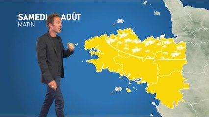 Bulletin météo pour le samedi 28 août 2021