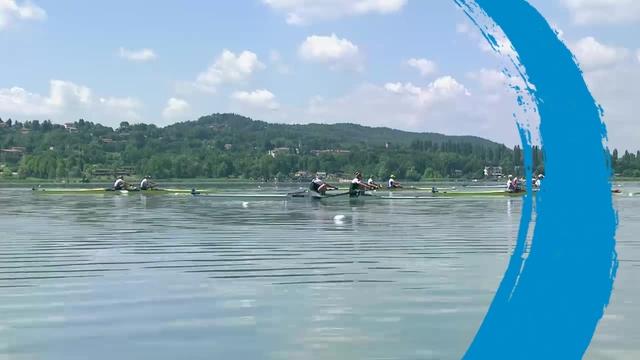 2015 World Rowing Cup II – Women's Pair (W2-) Final