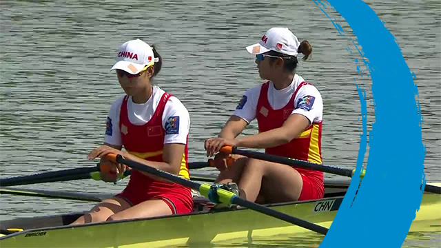 2019 World Rowing Cup 1 – Plovdiv (BUL) – Women's Double Sculls (W2x) – Final A