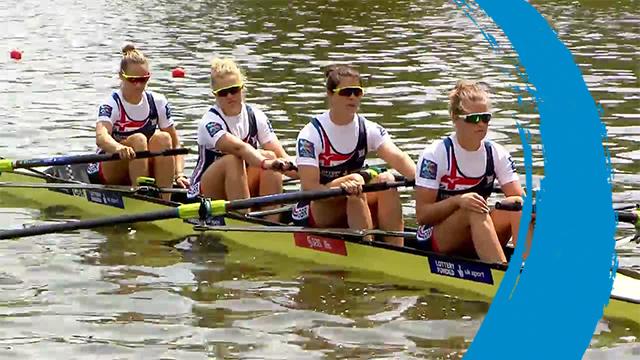 2019 World Rowing Cup II – Poznan, POL – Women's Four (W4-) – Final
