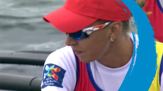 2019 World Rowing Cup 3 – Rotterdam, Netherlands – Women's Four (W4-) – Final A